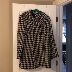 Express Houndstooth Peacoat